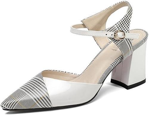 damen Slingback Knöchelriemen Sandalen Spitz Low Low Low Mid Block Heel Sandalen Für Kleid Abend Party  nur für dich
