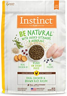 nature's variety instinct ingredients