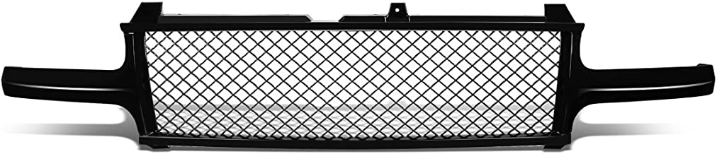 DNA Motoring Black GRF-001-T1-BK Badge-Less Diamond Mesh Front Bumper Grille for Silverado Tahoe Suburban