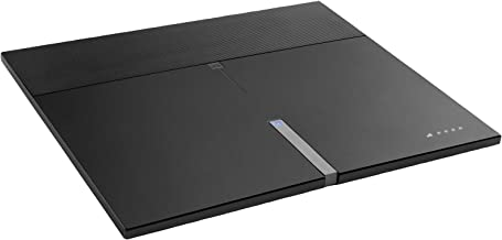 One For All HDTV Amplified Indoor TV Antenna 50 mile range, 8 Feet Coaxial Cable, Black - Multi Directional Reception