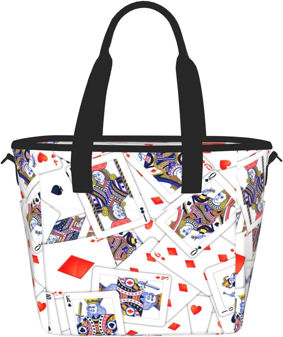 Poker Simple And Cute Sale SALE% OFF Prints Travel Storage For Pockets Ranking TOP18 Outdoor