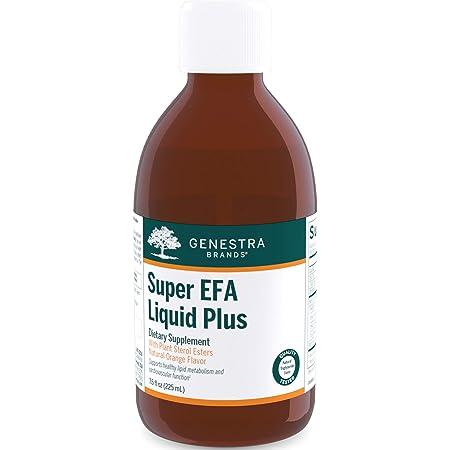 Genestra Brands - Super EFA Liquid Plus - Essential Fatty Acid Formula with Plant Sterols - 7.6 fl. oz.