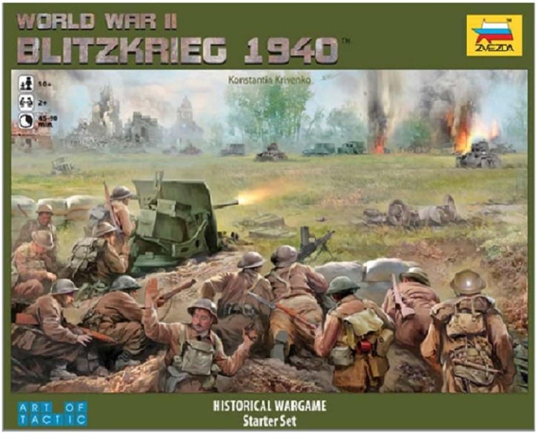 Zvezda 500786192 - Brettspiel, Blitzkrieg 1940