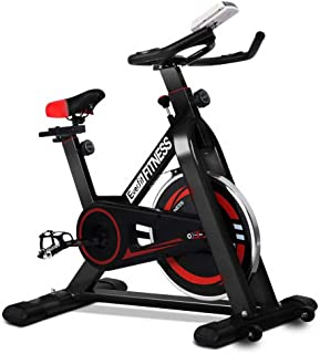 Everfit Spin Exercise Bike Gym Fitness Cycle – Black