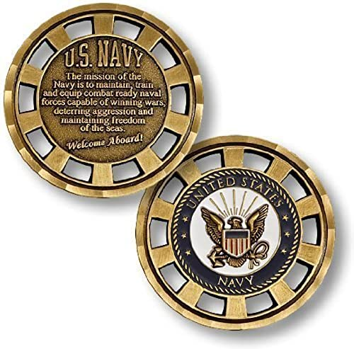 U.S. Navy Mission Challenge Coin by Northwest Territorial Mint