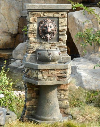 Jeco FCL013 Lion Head Outdoor/Indoor, Multi