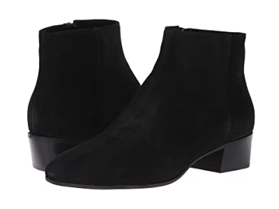 Aquatalia Fuoco (Black Suede) Women