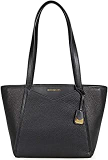 c5378dd0c3285 Michael Kors Whitney Ladies Small Pebbled Leather Tote Handbag 30S8GN1T1L001