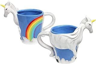 ThinkGeek 3D Unicorn Mug