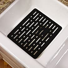 Rubbermaid Antimicrobial Sink Mat, Small, Black FG1G1706BLA