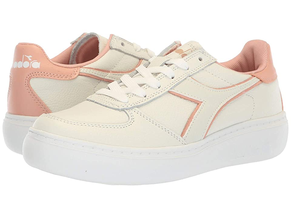 Diadora B.Elite L Platform (White/Dusty Pink) Women