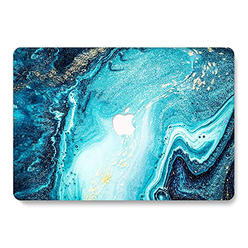 MacBook Air 13 Inch Case (A1369 & A1466, Older Version 2010-2017 Release), ACC Plastic Pattern Hard Case Compatible with MacBook Air 13, FJ 19