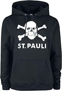 FC St Pauli Pullover//Sweatshirt ** Fleeceshirt Grau **