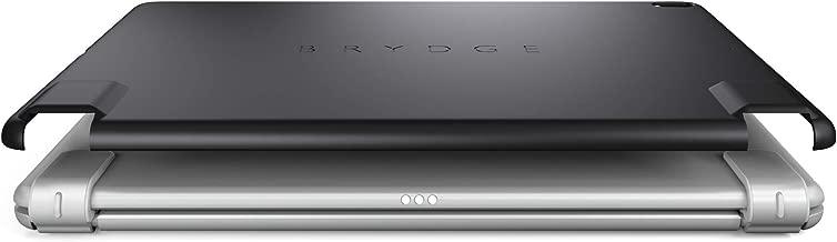 "Brydge iPad Pro 10.5"" Slimline Protective Case   Harden Polycarbonate with Silicone Coating   Integrates 10.5 Wireless Keyboard (Black)"
