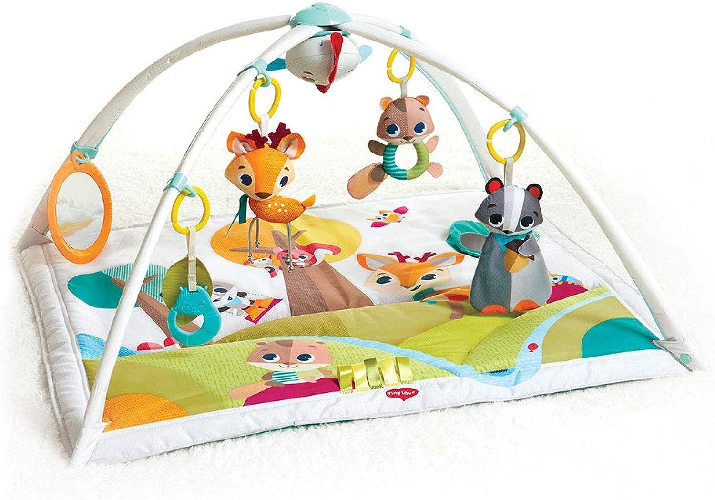 Tiny Love Baby Spieldecke Gymini Deluxe, Into The Forest, Krabbeldecke mit verstellbaren Spielbögen, nutzbar ab der Geburt (0M), 88 x 78 cm, mehrfarbig B0784WQC39  Moderne und elegante Mode       eine große Vielfalt