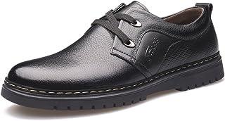 [Flova] ビジネスシューズ メンズ レースアップシューズ 革靴 Uチップ カジュアル 歩きやすい 滑り止め ウォーキングシューズ 営業マン 冠婚葬祭