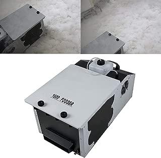 TC-Home 1500W Low Lying Smoke Fog Dry Ice Effect Machine DJ Stage Wireless Remote