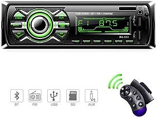 comprar comparacion Radio Coche, LSLYA Radio Coche Bluetooth, admite Llamadas Manos Libres, Radio USB Coche Soporte Radio FM, Radio para Coche...
