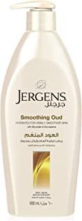 Jergens Smoothing Oud Dry Skin Moisturizer 600 ml, Pack of 1