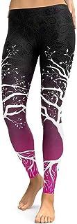 SMARTLADY Mujer Pantalones Largos Deportivos Patrón de á