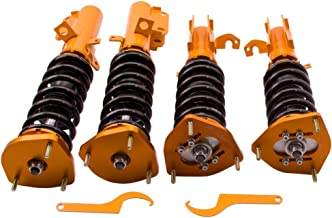 maXpeedingrods Coilovers Suspension Struts for Toyota Corolla E90 E100 E110 AE92 AE101 AE111 1988-1999 Coil Over Shock Absorber