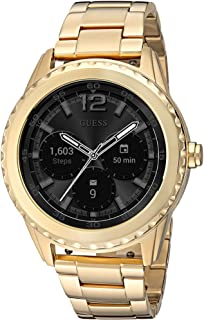 Women's Stainless Steel Android Wear Touch Screen Smart Watch, Color: Gold-Tone (Model: C1002M3)