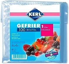 KERL Tiefgefrier-Beutel 15 l 40 x 55 cm 6 Rollen /à 10 St/ück extra stark