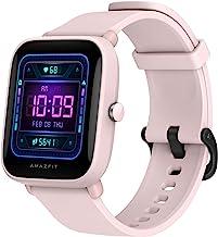 ساعت هوشمند Amazfit Bip U Pro با GPS داخلی ، عمر باتری 9 روزه ، ردیاب تناسب اندام ، اکسیژن خون ، ضربان قلب ، خواب ، نظارت بر استرس ، 60 حالت ورزشی ، نمایشگر بزرگ 1.43 اینچ ، مقاوم در برابر آب (صورتی)