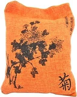 Auto Bambuskohle Tasche Geruchsentfernung Entferner Für Wohnzimmer Kinderzimmer, 500g Beutel für starken Geruch oder größere Fläche   Orange