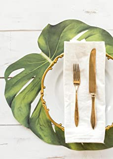 Hester and Cook Die-Cut Monstera Leaf Placemat Sheets