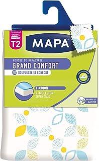 MAPA - Housse de Repassage pour Table à Repasser - Souple - Haute Résistance - Grand Confort - Taille 2 : 135x50 cm
