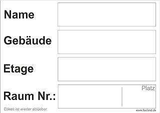 40x ablösbare Umzugetiketten Nr.5, 105x74, Beschriftung mit Etiketten vom Umzugskarton für den Umzug, Umzugsetiketten, Weiß