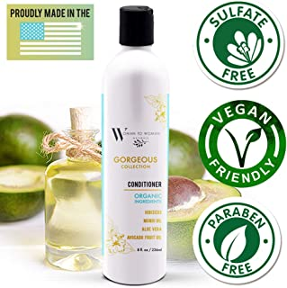Aloe Vera with Avocado Extract Gorgeous Collection Hair and Scalp Conditioner - Shine and Hydrate Naturally