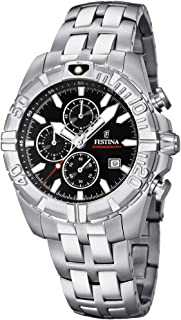 Festina Unisex Adult Chronograph Quartz Watch with Stainless Steel Strap F20355/4