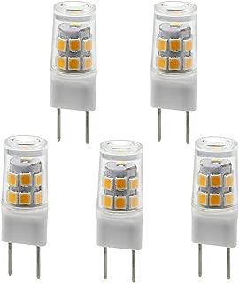 G8 T4 Bi-Pin Bulb LED G8 3000k JCD 110v Xenon Halogen 25w Replacement.5w G8 LED Light Bulbs Pin Base LED Halogen Xenon Replacement Puck Light Bi pin Under-Counter Lights Microwave Safe