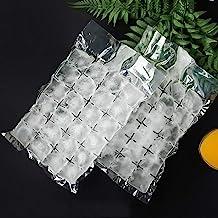 أكياس مكعبات الثلج القابلة للاستعمال مرة واحدة، قوالب مكعبات الثلج المصنوعة من مادة البولي إيثيلين الصالحة للأطعمة ذاتية ا...