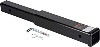 HiTow Class III Hitch Extension Trailer Hitch Receiver Tube Extenders with Pin&Clip, 18