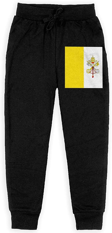 RVSAPK Flag of The Vatican City Kids Boy Quality inspection Jersey Topics on TV Sweatpants Sport
