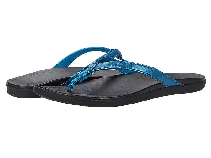 Ho'opio  Shoes (Deep Water/Black) Women's Sandals