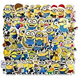 Minions Stickers for Laptop Waterproof Vinyl Stickers for Water Bottle Computer Mac Pad Phone Case Hydro Flask Bumper Skateboard Luggage (Minions)