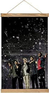"""Behoneybee One Direction Posters, HD Canvas Decorative Hanging Picture, Unframed Canvas Painting Print Home Room Art Wall for Living Room, Bedroom, Kitchen, Hallway(11.8"""" 17.7"""")"""