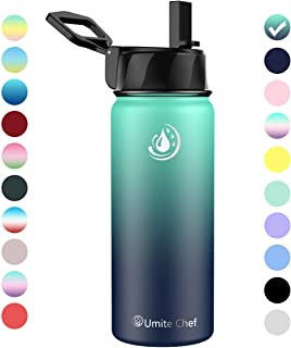 Umite Chef Water Bottle, Vacuum Insulated Wide Mouth...