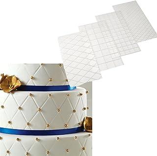 Recharges de gaufrage Tapis, Tapis texturé pour décoration de gâteaux, Fondant, 3D Effet Dentelle Motif Classique, modèle ...