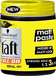Schwarzkopf Taft Full On Matt Paste, 100ml
