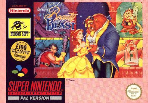 Disneys Beauty and the beast - Super Nintendo - PAL