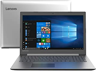 Notebook, Lenovo, Ideapad 330, Intel Core i3-7020U, 4GB, 1000, GB, 15.6 Polegadas, Windows 10, Prata, 81FE000QBR
