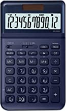 $51 » WXIANG Calculator Desktop Adjustable Calculator Dual Power Calculator Cute Girl Portable Fashion 12-Digit Ultra-Thin Calcu...