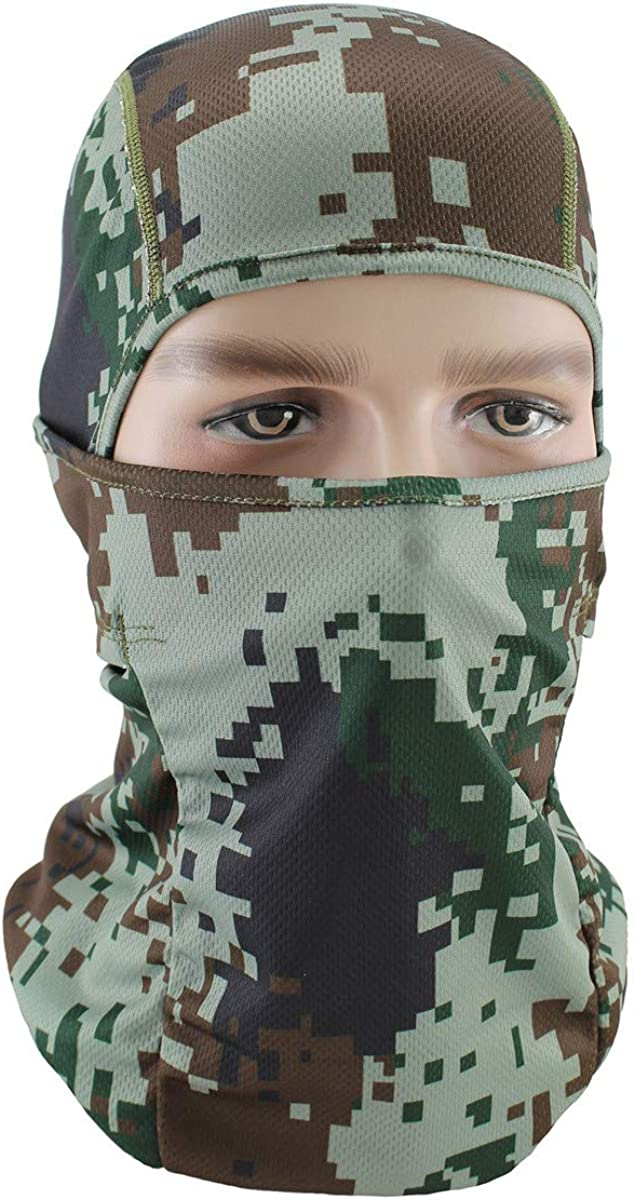 Limited time trial price Max 75% OFF Unisex Balaclava Full Face Mask Windproof Cover Neck UV Protect