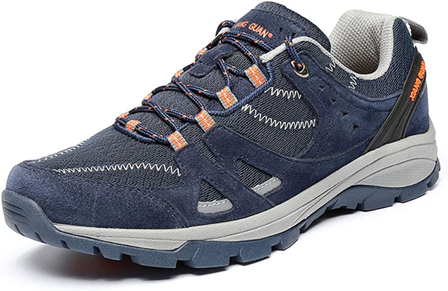 Men's Hiking shoes, Light Walking shoes Unisex Low Help Breathable Non Slip Fashion Outdoor Sports shoes,bluee,39