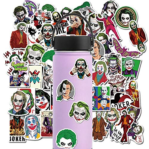 SUNYU PVC Impermeable Encantador The Joker Sticker Toys The Luggage Stickers For Car Moto & Suitcase Laptop Stickers 50Pcs
